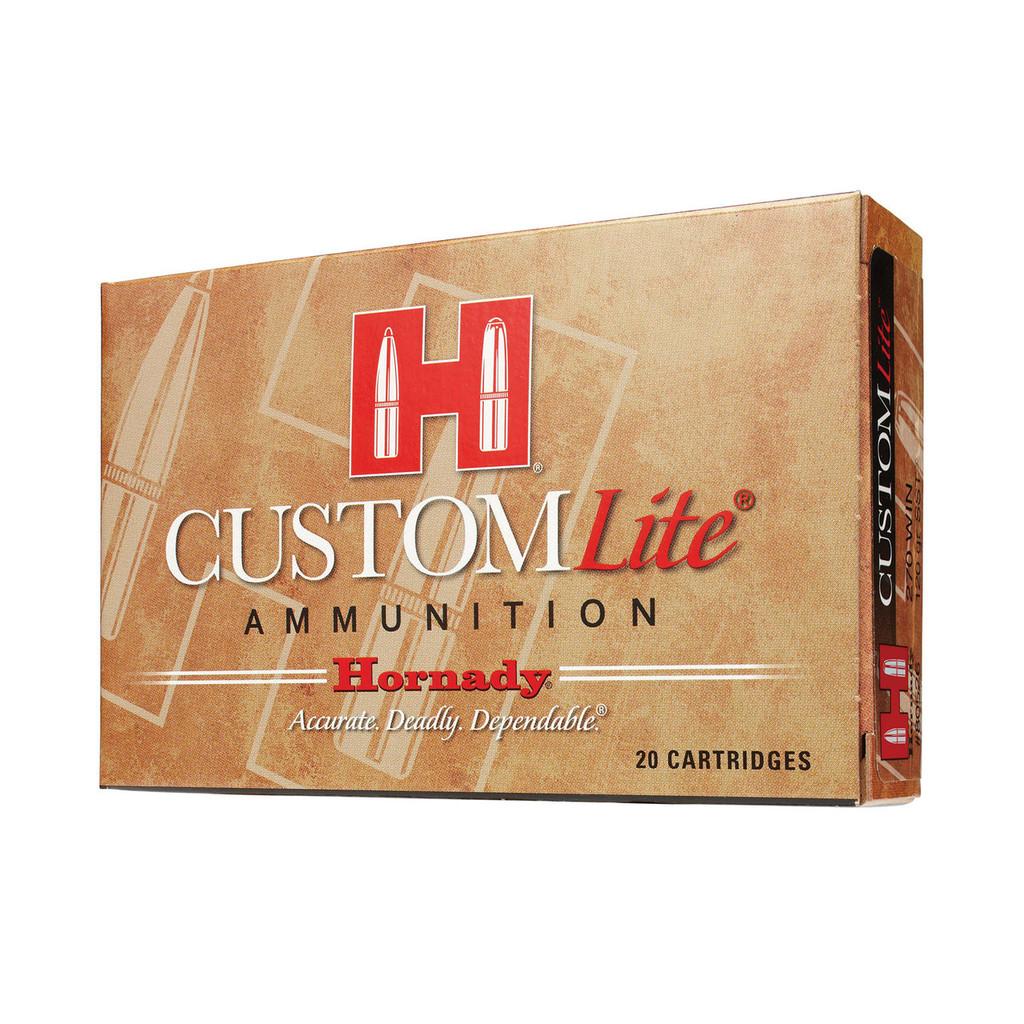 Hornady Custom Lite Ammunition 270 Win 120 Grain