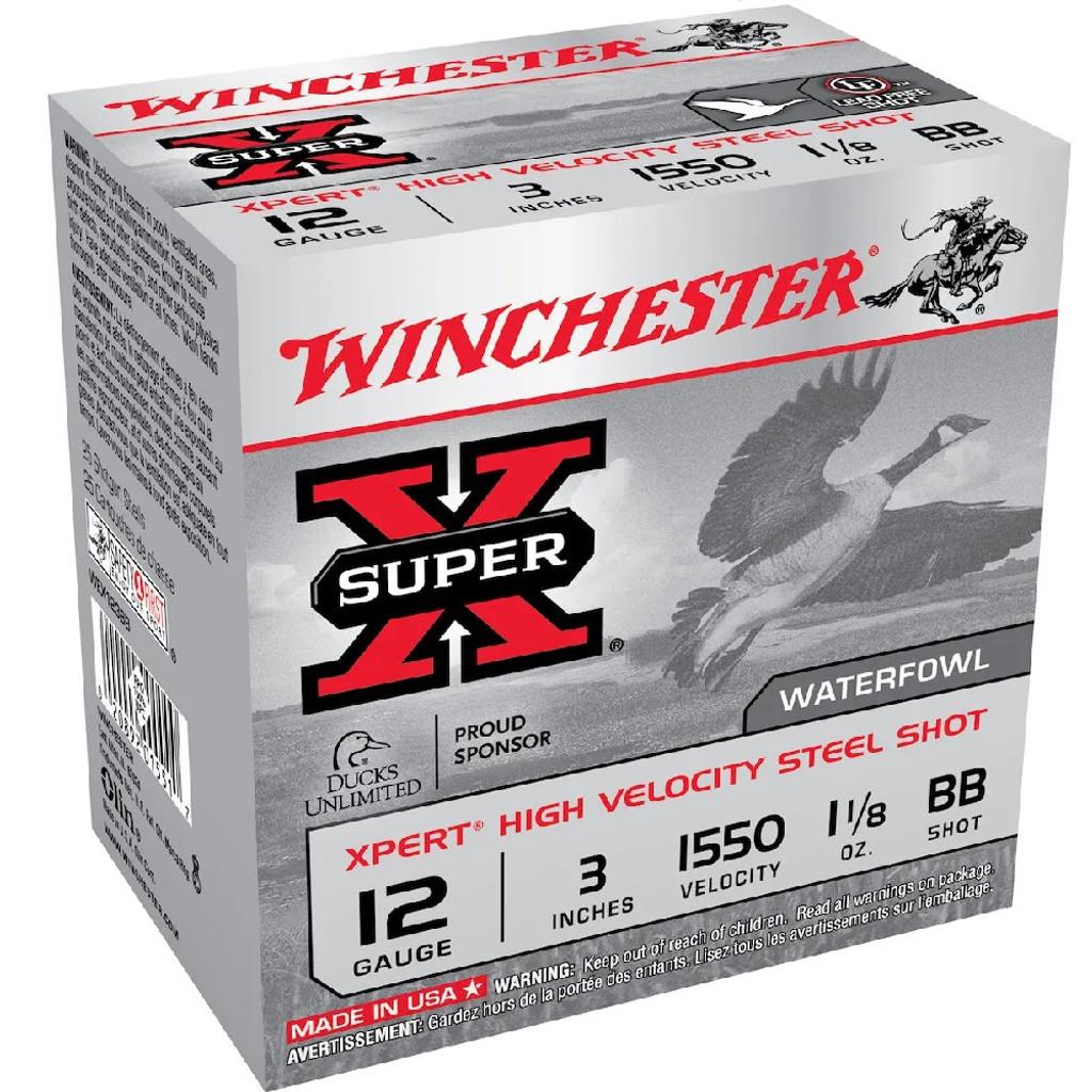 """WINCHESTER XPERT SHOTSHELL 3"""" BB"""