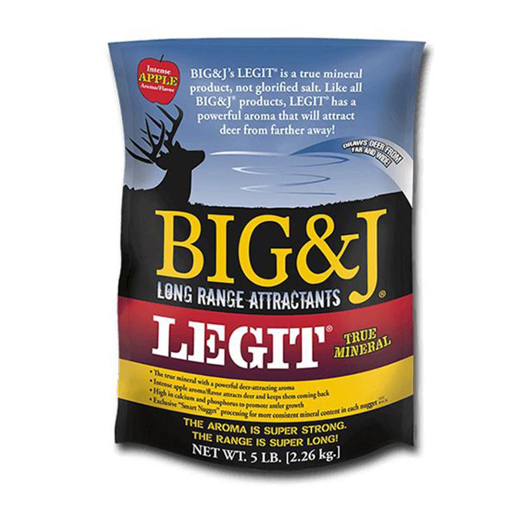 BIG AND J LEGIT 5# BAG MINERAL