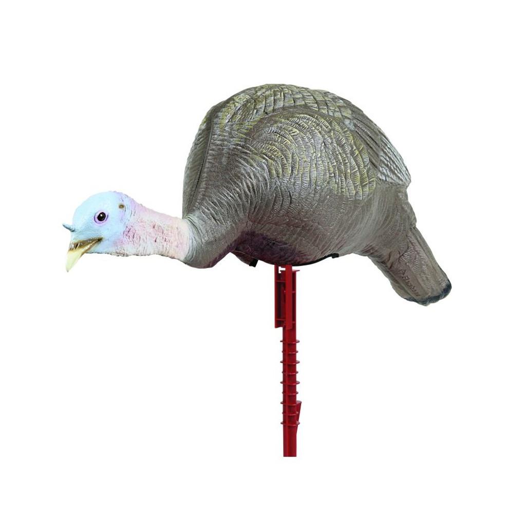 FLAMBEAU MASTER SERIES TURKEY ACTIVE FEEDING HEN DECOY