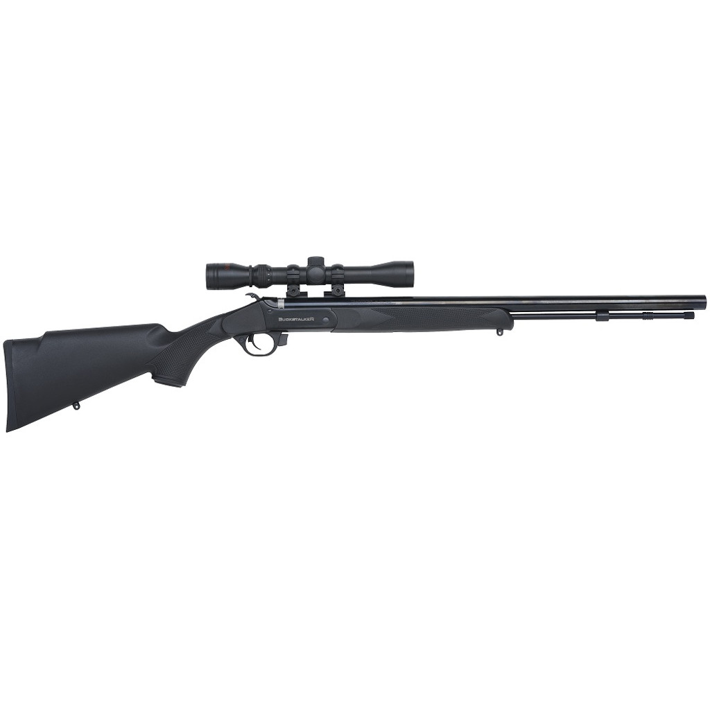 TRADITIONS BUCKSTALKER 50CAL W SCOPE AND CASE
