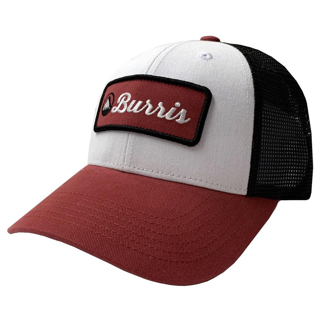 BURRIS TRUCKER HAT WHITE