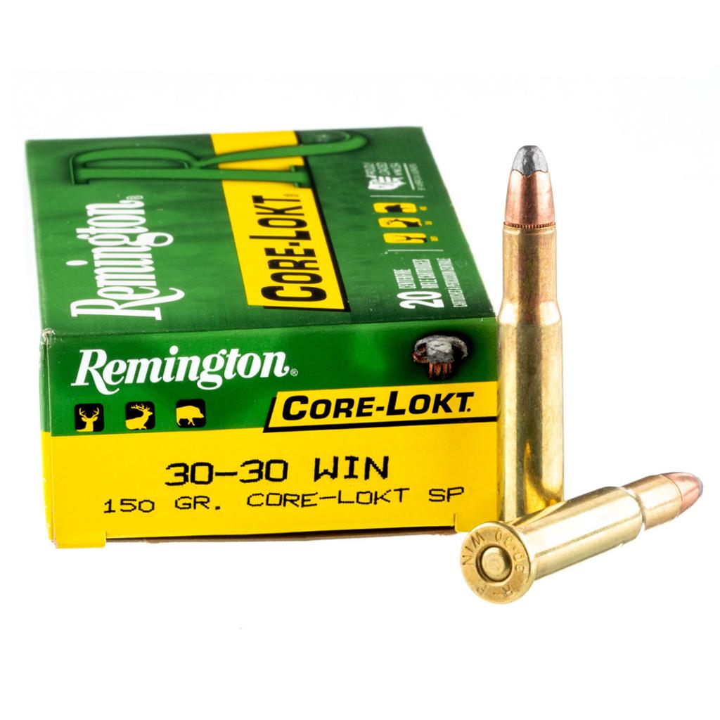 REMINGTON CORE-LOKT 30-30 WIN 150GR SP