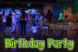Glow in the Dark ARCHERY Birthday party Winnipeg Manitoba