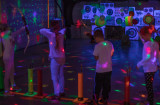 shooting archery glow in the dark winnipeg party kids youth