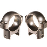 "BURRIS 1"" ZEE RINGS LOW NICKEL"