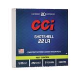CCI 22LR SHOTSHELLS 20 PK