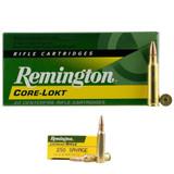 REMINGTON CORE-LOKT 250 SAVAGE AMMUNITION