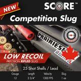 SCORE 12GA SLUG LOW RECOIL 1300FPS