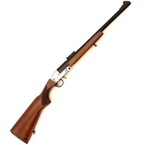 LAZER ARMS 12GA SINGLE SHOT HAMMERLESS WALNUT