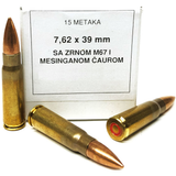 SURPLUS 7.62X39 AMMO 500 ROUNDS
