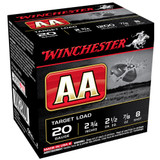 WINCHESTER 20 GA 2 3/4 #8 TARGET LOAD