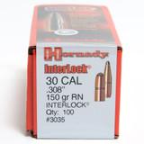 HORNADY 30CAL .308 150GR RN