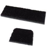 CIR-CUT SUPER HAIR TWO PIECE TRADITIONAL SHELF REST KIT BLACK