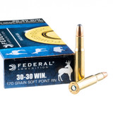 FEDERAL 30-30 170GR POWERSHOK JSP