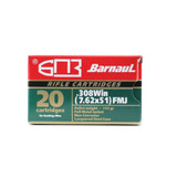 BARNAUL .308 WIN 145GR FMJ
