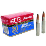 BARNAUL .308 WIN 168GR SOFT POINT