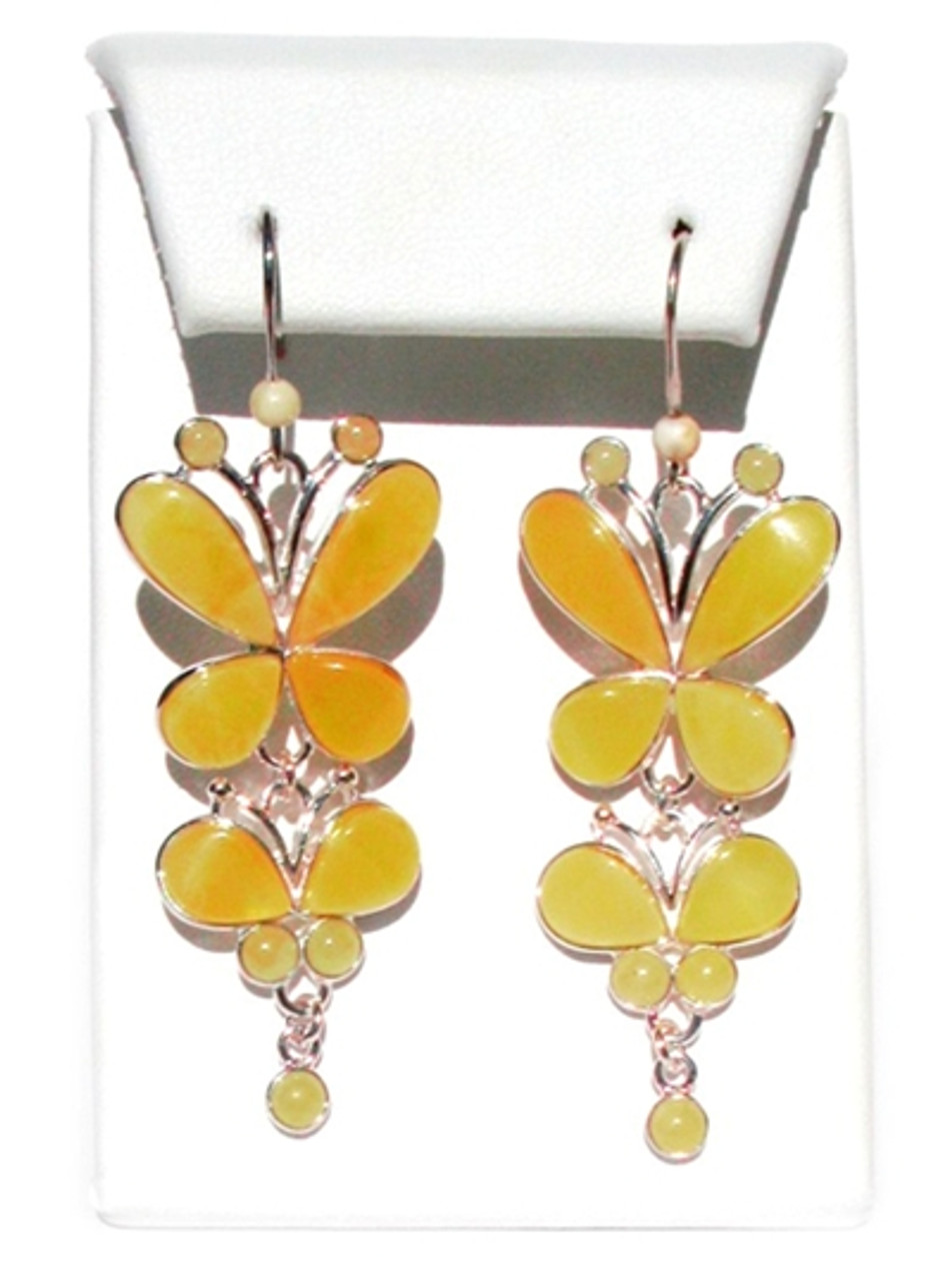 EARRINGS AVAILABLE Details about  /BUTTERSCOTCH BALTIC AMBER PENDANT 925 STERLING SILVER