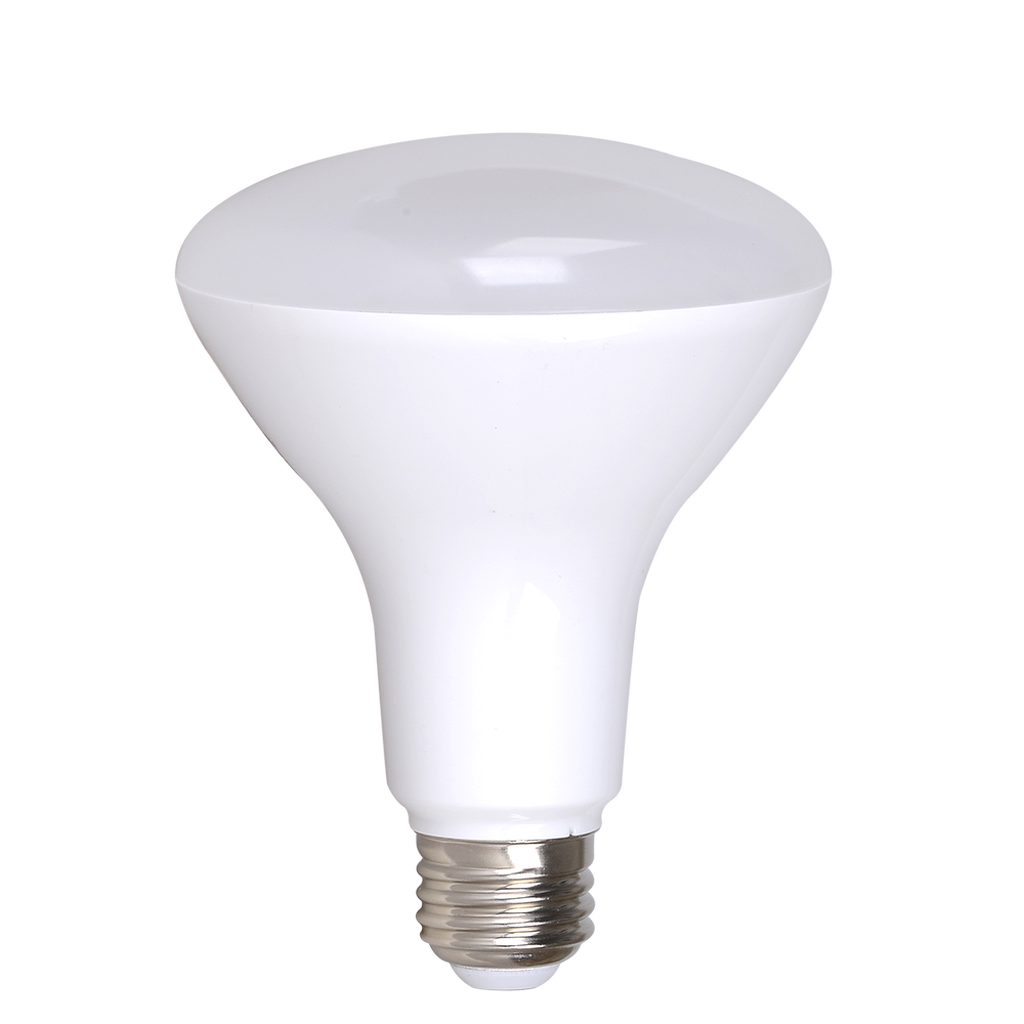 4-Pack Dimmable BR30 Flood LED, 8W (60W equiv), 2700K