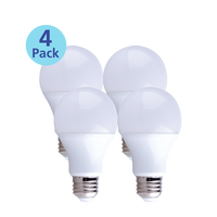 4-Pack Dimmable LED, 9W (60W equiv), 2700K