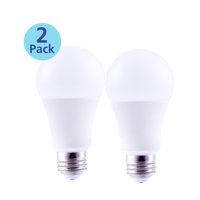 2-Pack Dimmable 3-Way LED, 4/8/12W (40/60/75W equiv), 2700K