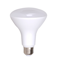 4-Pack Dimmable BR30 Flood LED, 11W (75W equiv), 2700K