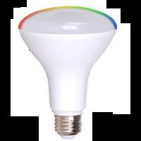 2-Pack Dimmable BR30 Smart LED Flood, 11W (75 equiv.), 2700K-5000K