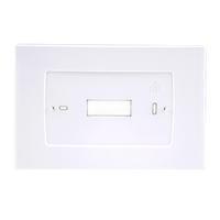 Wallplate for Emerson Sensi Touch Wi-Fi Thermostat, White
