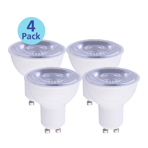4-Pack Dimmable LED MR16, 7W (75W equiv), 2700K