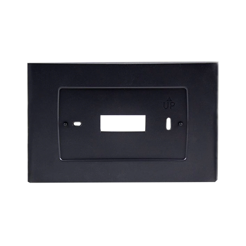 Wallplate for Emerson Sensi Touch Wi-Fi Thermostat, Black
