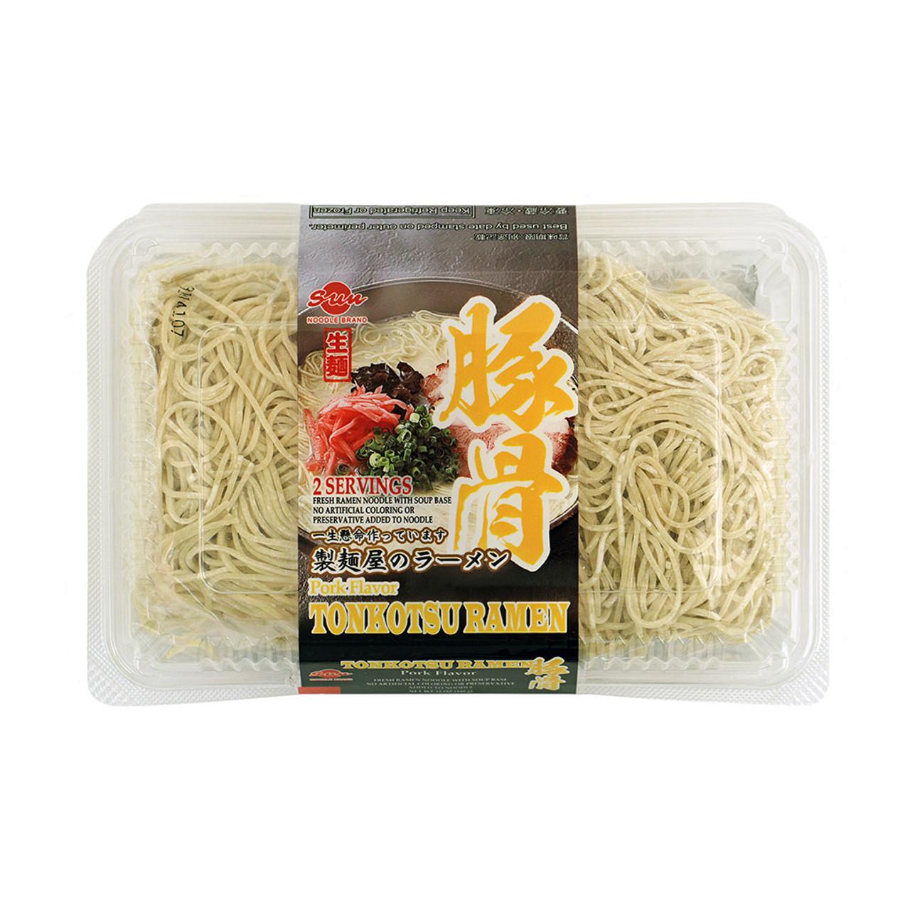Sun Noodle Frozen Tonkotsu Ramen Noodle With Soup 2 Servings Mtc Kitchen