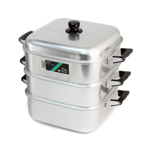 Aluminum 2-Tier Steamer