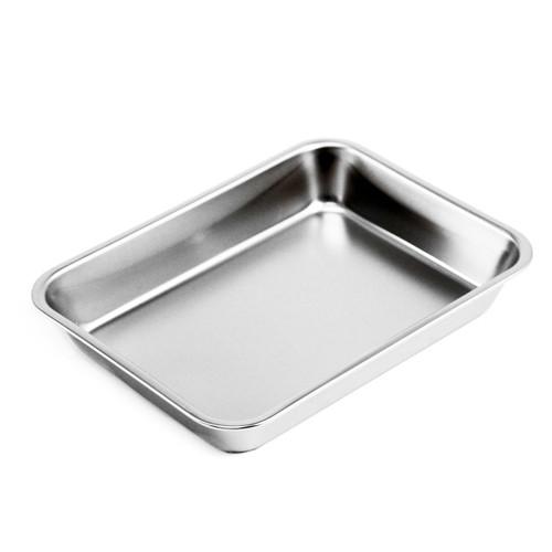 "Stainless Steel Sushi Pan 7.28"" x 5.51"""