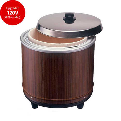 Reinforced 120V upgraded (US-model) Nekken Ever Hot 20 Cup Electric Sushi Rice Warmer NV-25