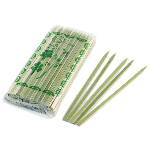 "Flat Bamboo Skewers 7.1"" (100/pack)"