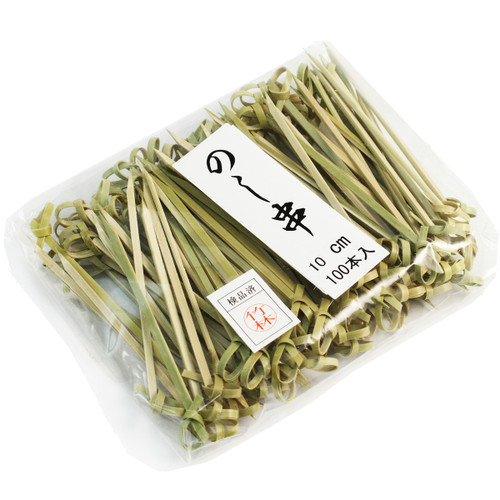 """Knotted Bamboo Skewers 3.5"""" (100/pack)"""