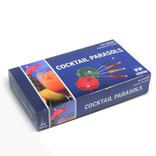"""Parasol Picks for Cocktail and Appetizers 3.5"""" (144/box)"""