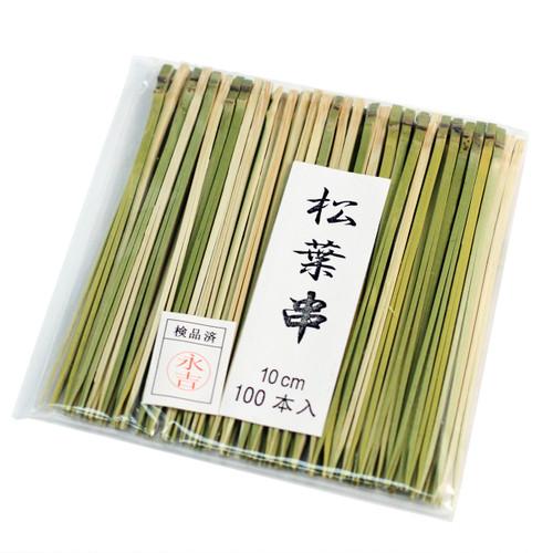 """Bamboo Matsubagushi Skewers 4"""" (100/pack)"""
