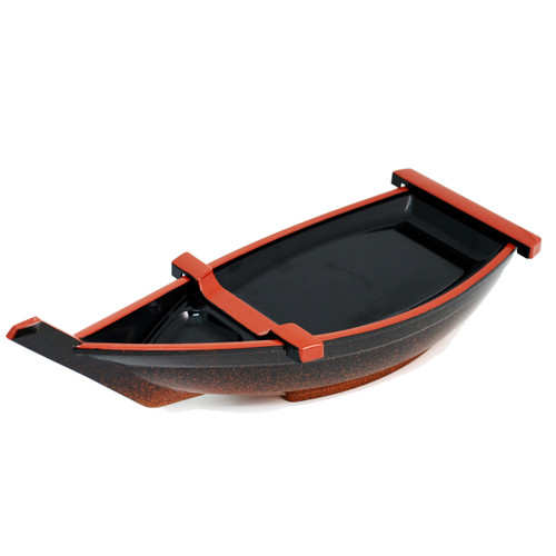 Resin lacquer Sushi Serving Boat