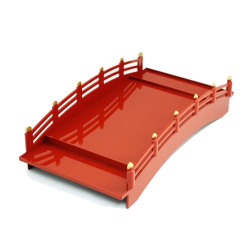 Red Morikomi Sushi Serving Bridge