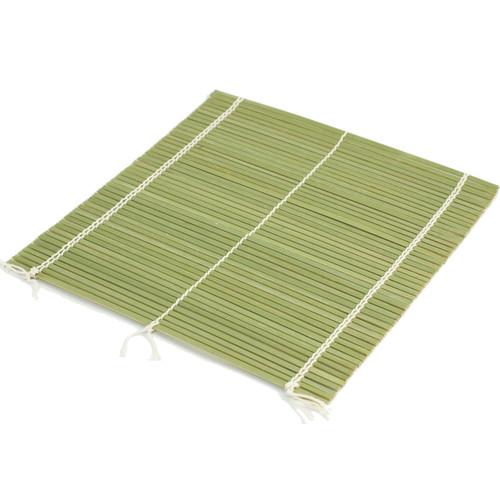 """Durable Double String Bamboo Makisu Sushi Rolling Mat 11.8"""" x 11.8"""""""