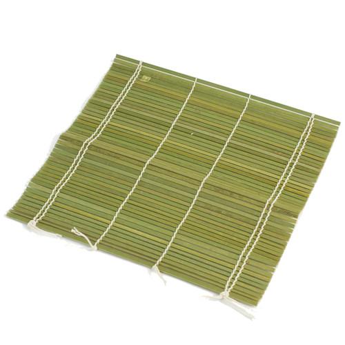 """Double String Bamboo Makisu Sushi Rolling Mat 9.5"""" x 9.5"""""""