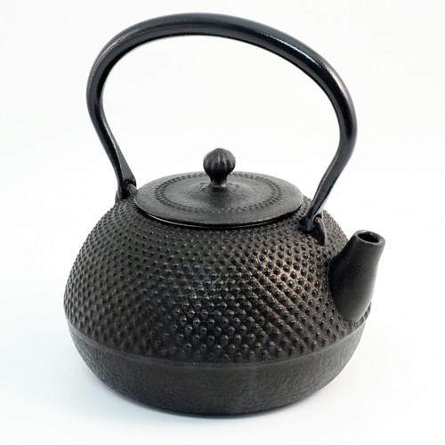 Arare Textured Nanbu Cast Iron Teapot 27 oz