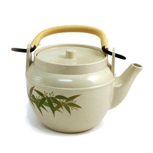 Bamboo Leaf Melamine Teapot 34 fl oz