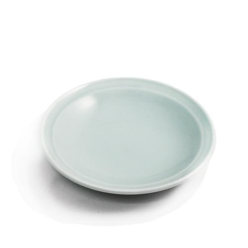 """Sage Soy Sauce Dish 3.94"""" dia"""
