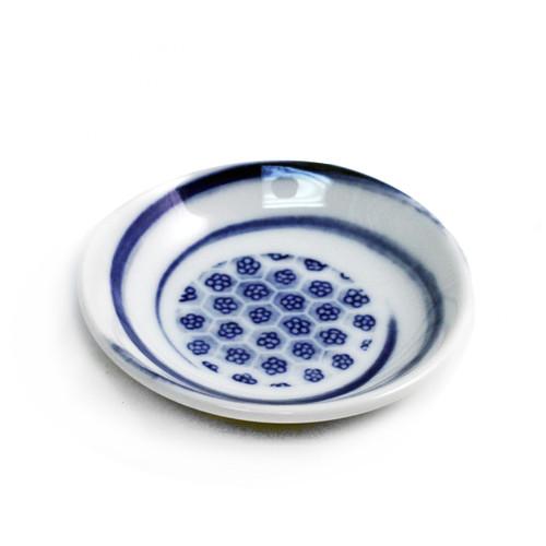 """Mini Flower Soy Sauce Dish 3.6"""" dia"""