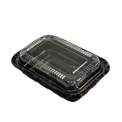 "TZ-810K Kamome Bird Take Out Sushi Tray 7.3"" x 5.1"" (500/case)"