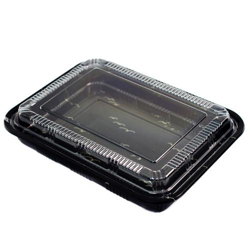 "TZ-830K Kamome Bird Take Out Sushi Tray 10.5"" x 8"" (200/case)"