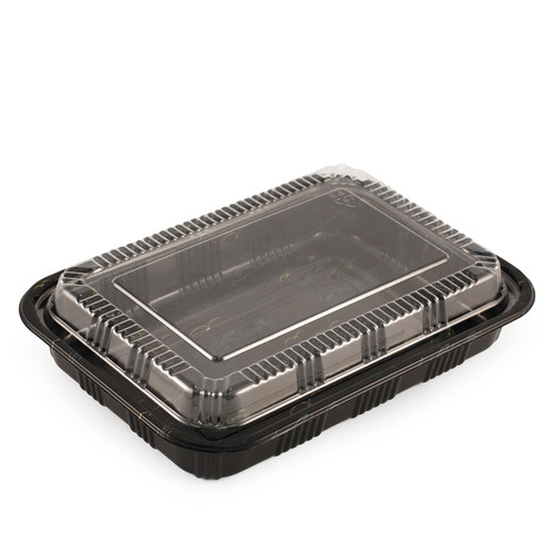 "TZ-825K Kamome Bird Take Out Sushi Tray 9.2"" x 6.5"" (300/case)"