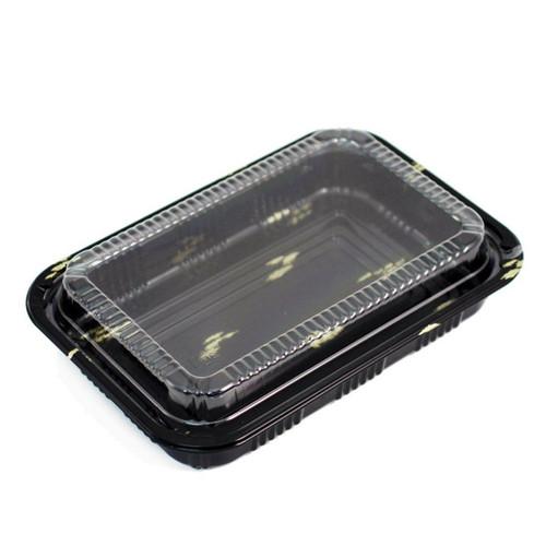 """CZ-6 Take Out Sushi Tray 7.2"""" x 5.1"""" (600/case)"""